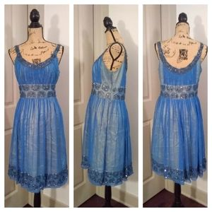 Adrianna Pappell Evening Dresses - Adrianna Pappell Evening silk dress sz 12